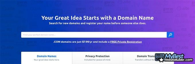 Best domain hosting: DreamHost.