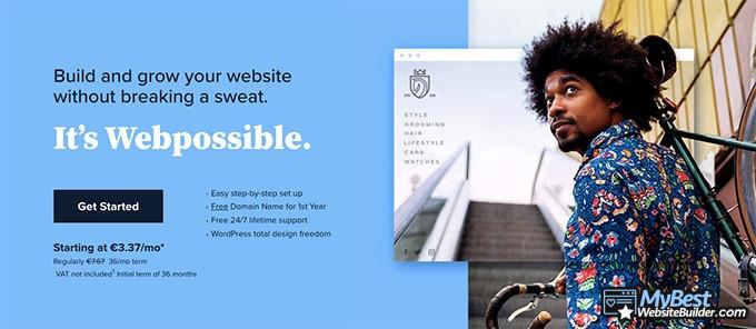 Best web hosting: BlueHost.