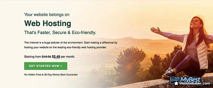Best web hosting: GreenGeeks.