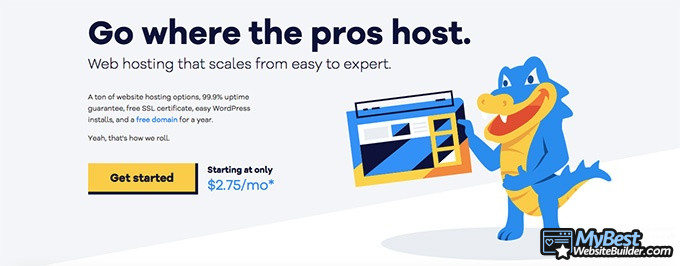 Best web hosting: HostGator.