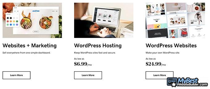 Hosting WordPress Terbaik: GoDaddy.