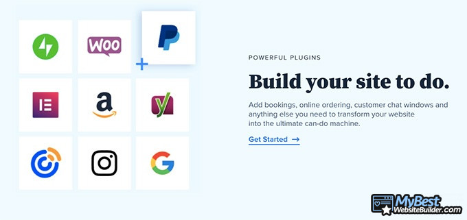 Bluehost reviews: build your site.