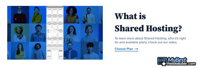 Bluehost reviews: what is shared hosting.