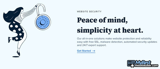 Bluehost reviews: peace of mind and simplicity.