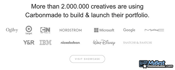 Carbonmade review: over 2 million creatives.