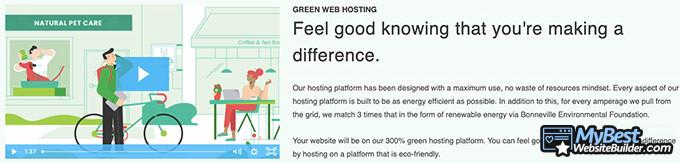 Ulasan GreenGeeks: green web hosting.