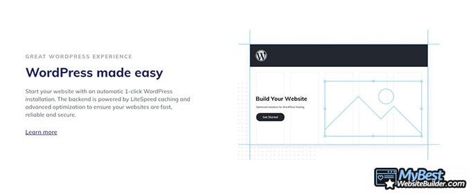 Hostinger review: WordPress.