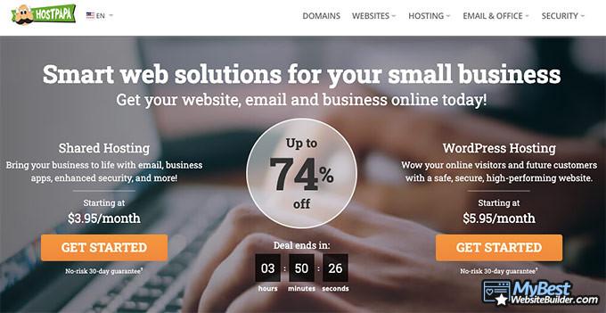 HostPapa review: hosting services.