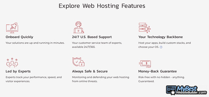 InMotion hosting review: explore web hosting features.