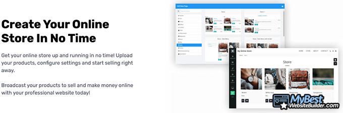 Análise do Site123: criar loja virtual