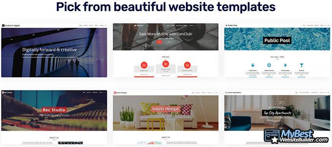 Análise do Site123: loja de aplicativos