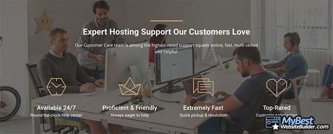 SiteGround reviews: support and customer love.