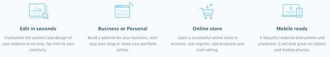 Análise do Webnode: recursos.