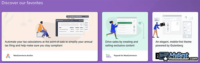 WooCommerce review: extensions.