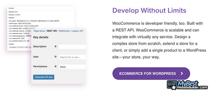 WooCommerce review: scalability.
