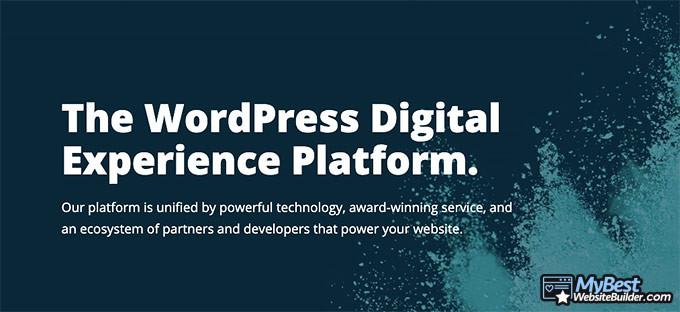 WP Engine reviews: platform.